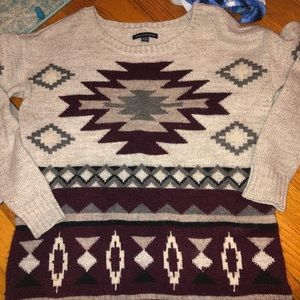 """Tribal Print"" Sweater"